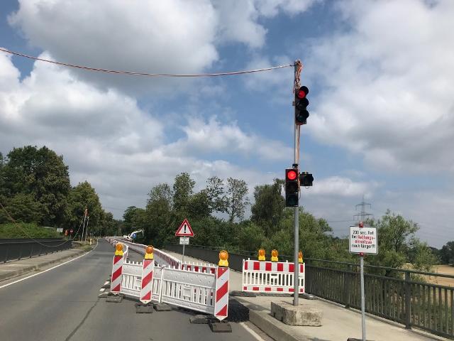 Radwegsanierung Schermbeck Kanalbrücke