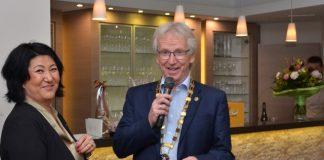 Rotarier Klaus Friedrich ist Präsident