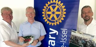 Rotary Club präsident Klaus Friedrich