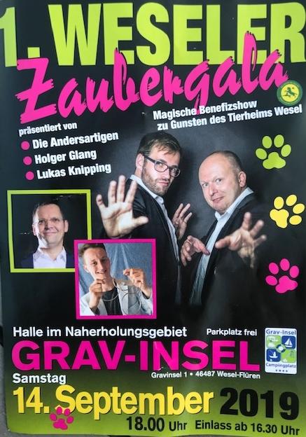 Zaubergala Tierheim Wesel