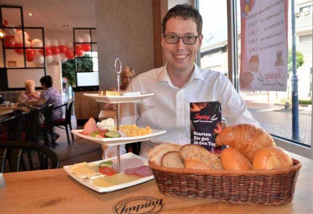 Bäckerei Imping Neueröffnung Schermbeck