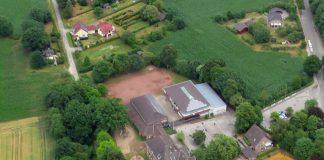 Grundschulstandort Schermbeck Luftaufnahme