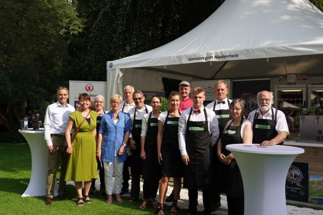 Das Team der Genussregion Niederrhein. Foto: Michaelis