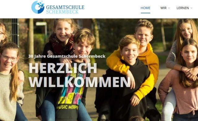 Neue Homepage Gesamtschule Schermbeck