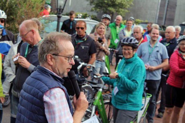 Radtour Weselerwald mit Landrat Müller