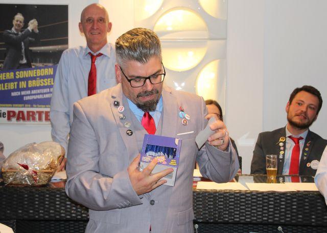 Marc Overkämping Die Partei Schermbeck Vorsitzender