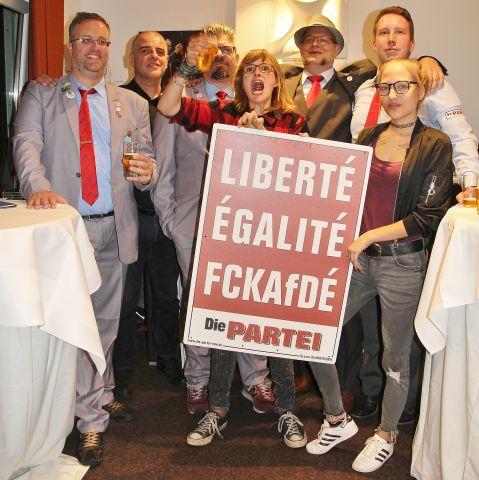 Gründungsversammlung Die PARTEI Ortsversband Schermbeck 2019