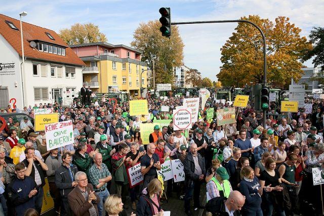 Landwirtschaft Demo Bonn