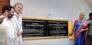 im Beisein von 8 Priestern der Umgebung und etwa 300 Gästen die Stender Mineral Water Plant feierlich eingeweiht