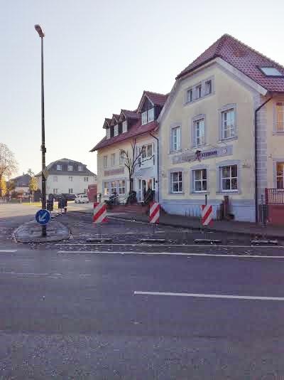 Kreuzungsbereich Schermbeck