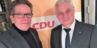 CDU Schermbeck Ulrich Stiemer und Rainer Gardemann Schermbeck2019