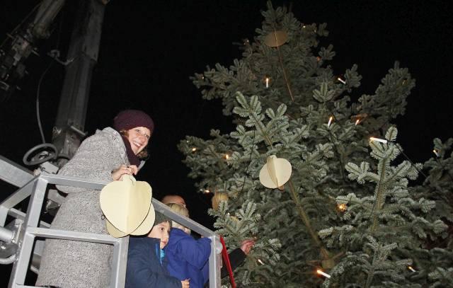 Weihnachtsbaum Rathaus Wir sind Schermbeck