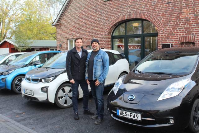 Elektro Auto Ladestation Schermbeck Heßling und Wellmann