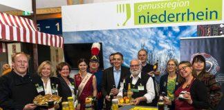 Genussregion Niederrhein auf der grünen Woche 2020