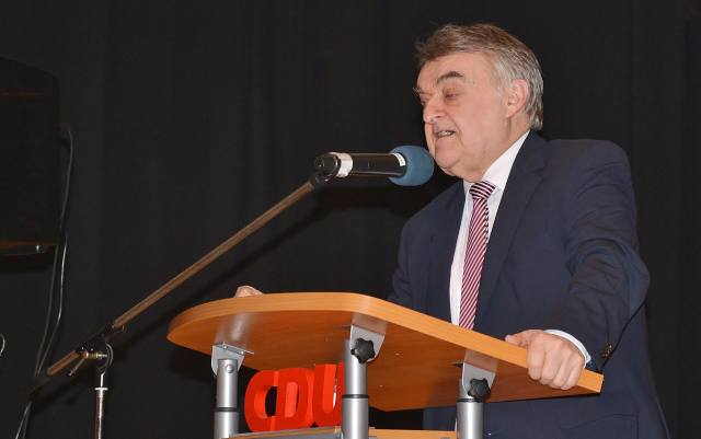 Herbert Reul Neujahrsempfang CDU Schermbeck