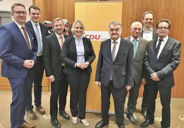 Neujahrsempfang CDU Schermbeck mit Minister Reul
