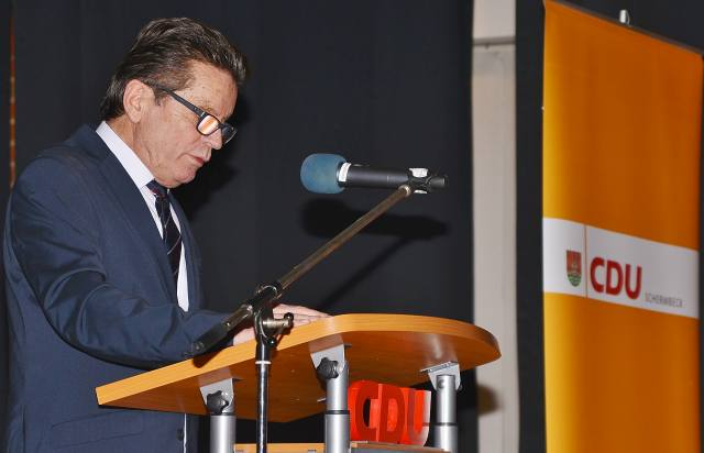Ulrich Stiemer Neujahrsempfang CDU Schermbeck
