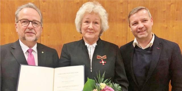 Verdienstkreuz Gudrun Gerwien