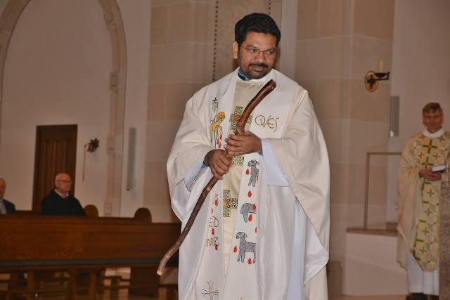 20-jähriges priesterjubiläum Xavier Muppala