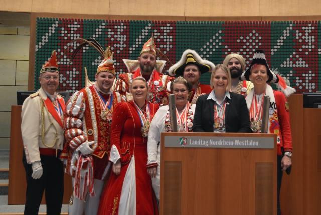 Charlotte Quik närrischer Landtag