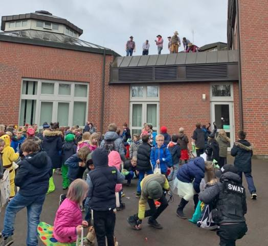 Karneval Grundschule Schermbeck
