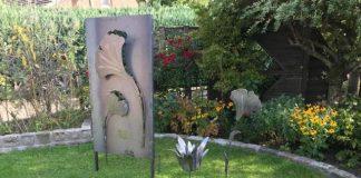 Metallkunst im Garten Schermbeck Seminar