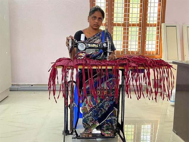 Coronakrise Indien Nähzentrum St. Ludgerus Ponugodu