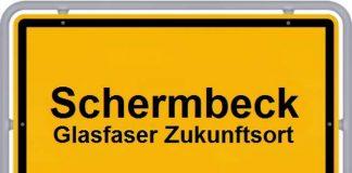 Glasfaser außengebiet Schermbeck
