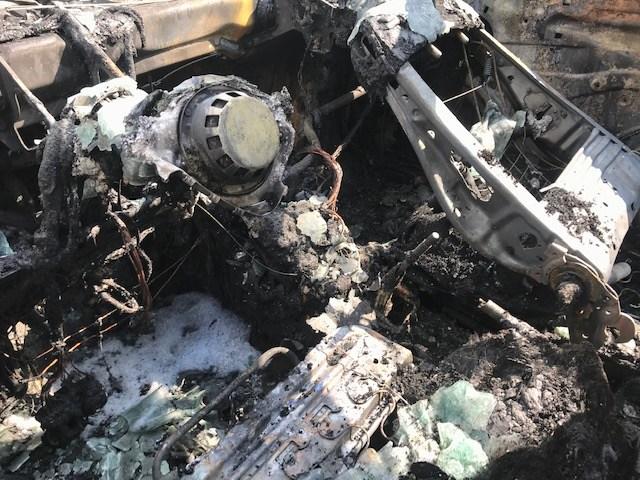Fahrzeug in Schermbeck ausgebrannt