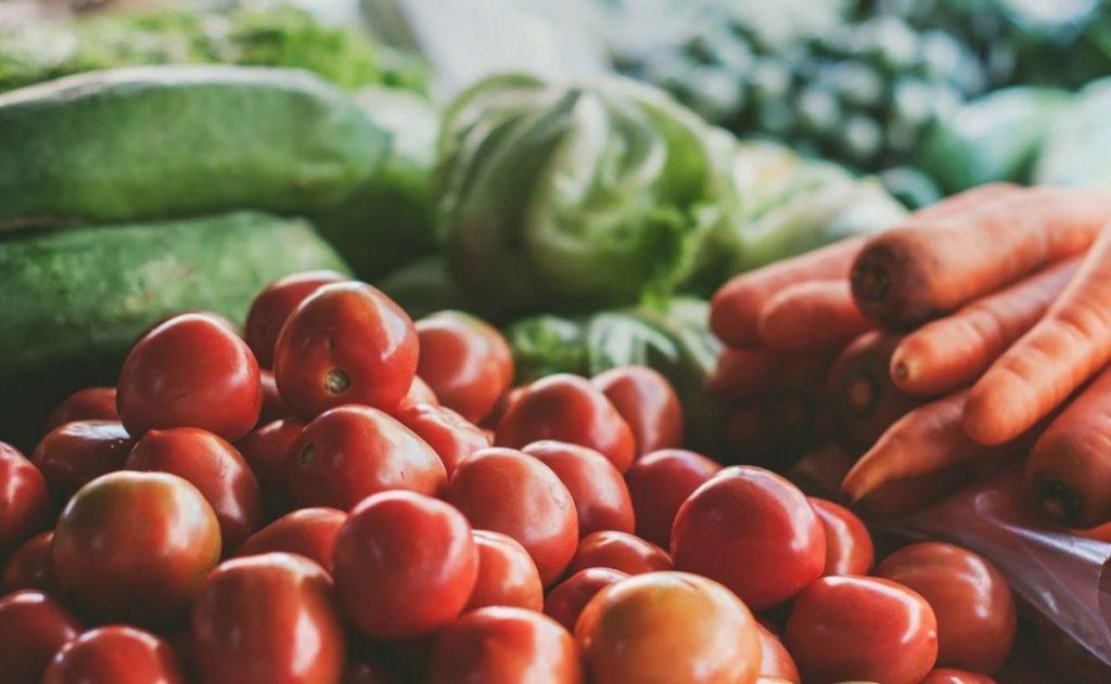 Landwirtschaftliche Produkte Land schafft Verbindung