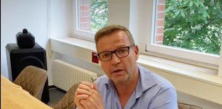 Mike Rexforth Öffnung der Grundschule Schermbeck
