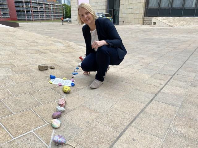 Mutmacher Schlange Landtag Charlotte Quik Corona
