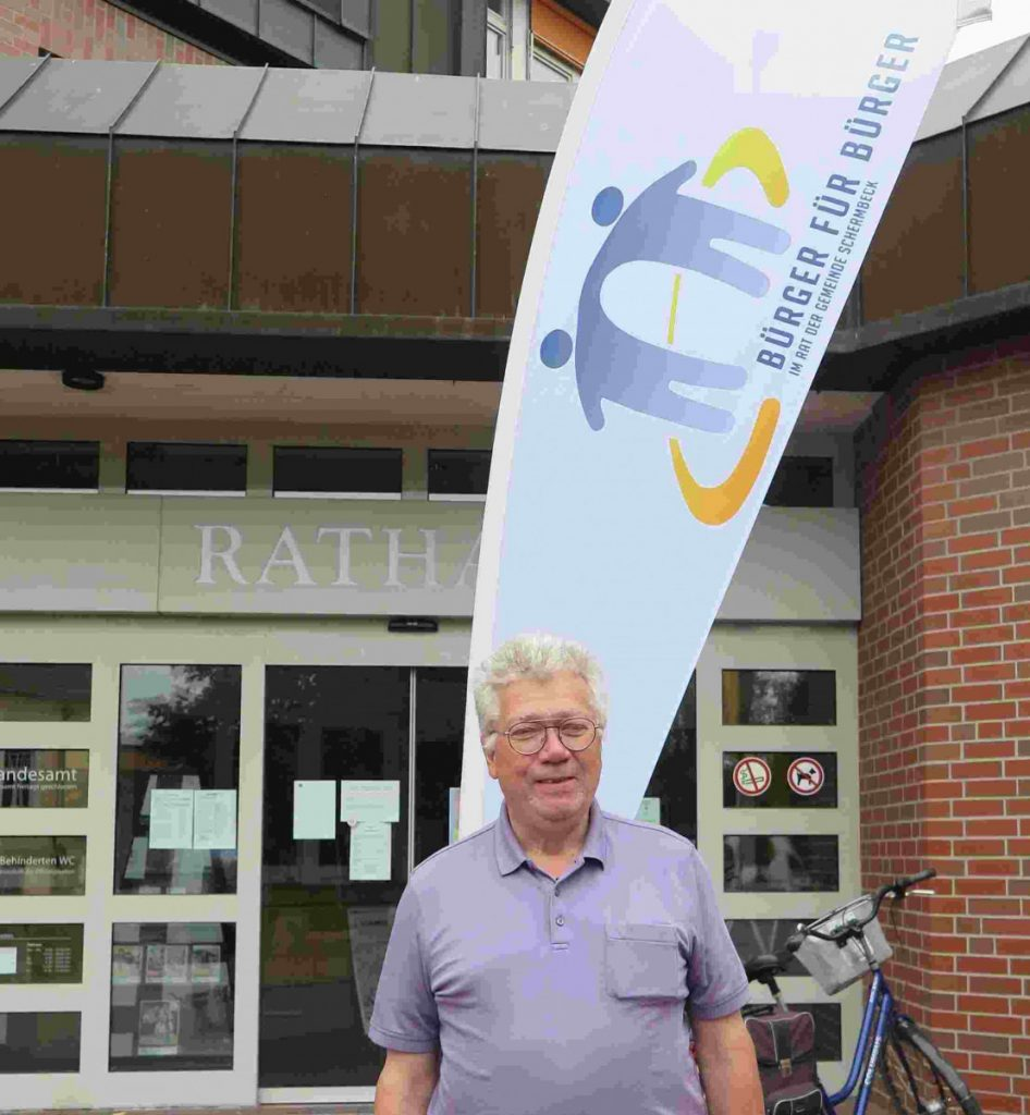 Bürgermeisterkandidat Kommunalwahl 2020 Klaus Roth