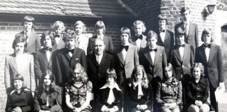 1975 Konfirmation ev. Kirche St. Georg