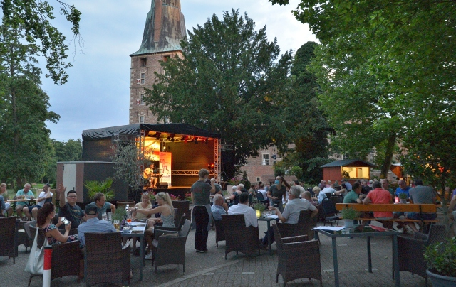 Kultur Terrasse Schloss Raesfeld