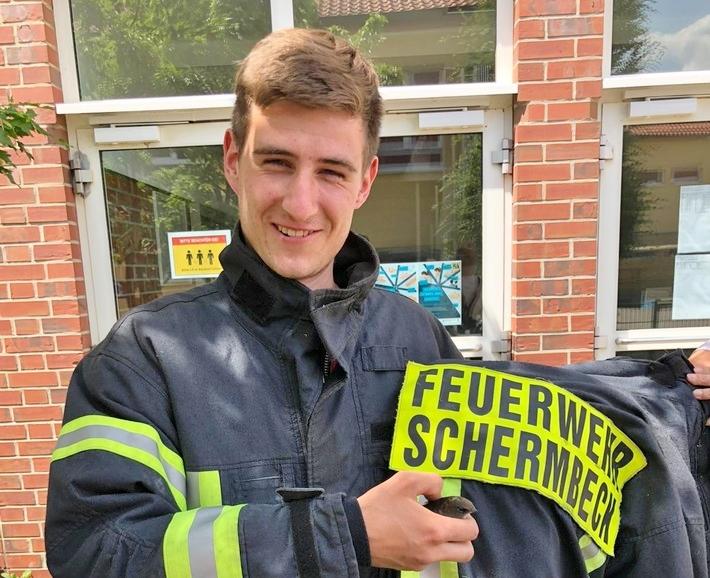 Feuerwehr Schermbeck rettet Vogel