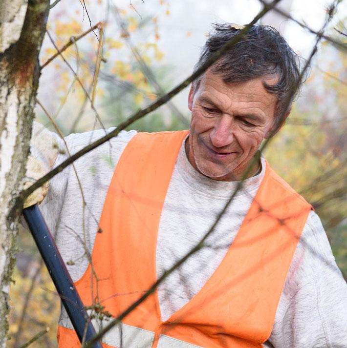 ehrenamtliche Wald RVR Schermbeck Waldprojekt