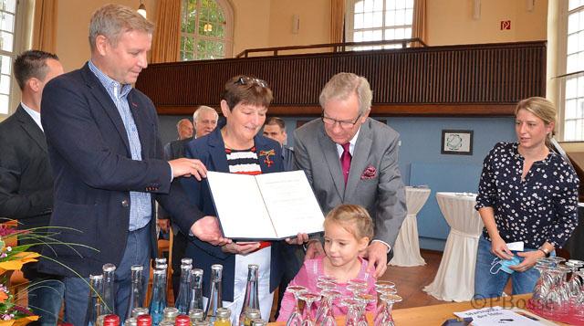 Bundesverdienstkreuz für Hildegard Franke Schermbeck 2020