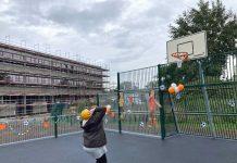 Sportplatz für Förderschule