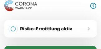 Corona-App-Risiko