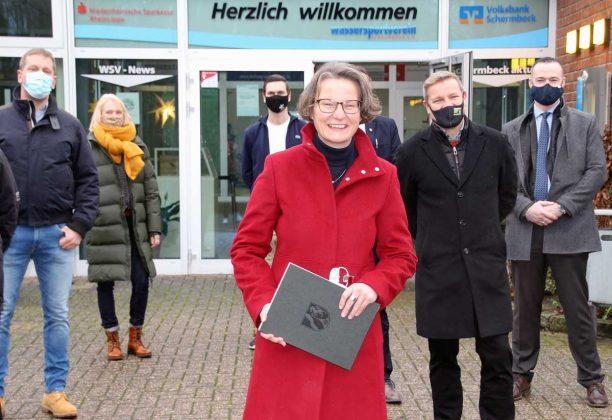 Förderbescheid-WSV-Schermbeck-Scharrenbach