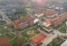 Gesamtschule SChermbeck Luftaufnahme