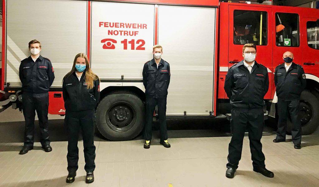 Neuzugägne-Feuerwehr-Schermbeck