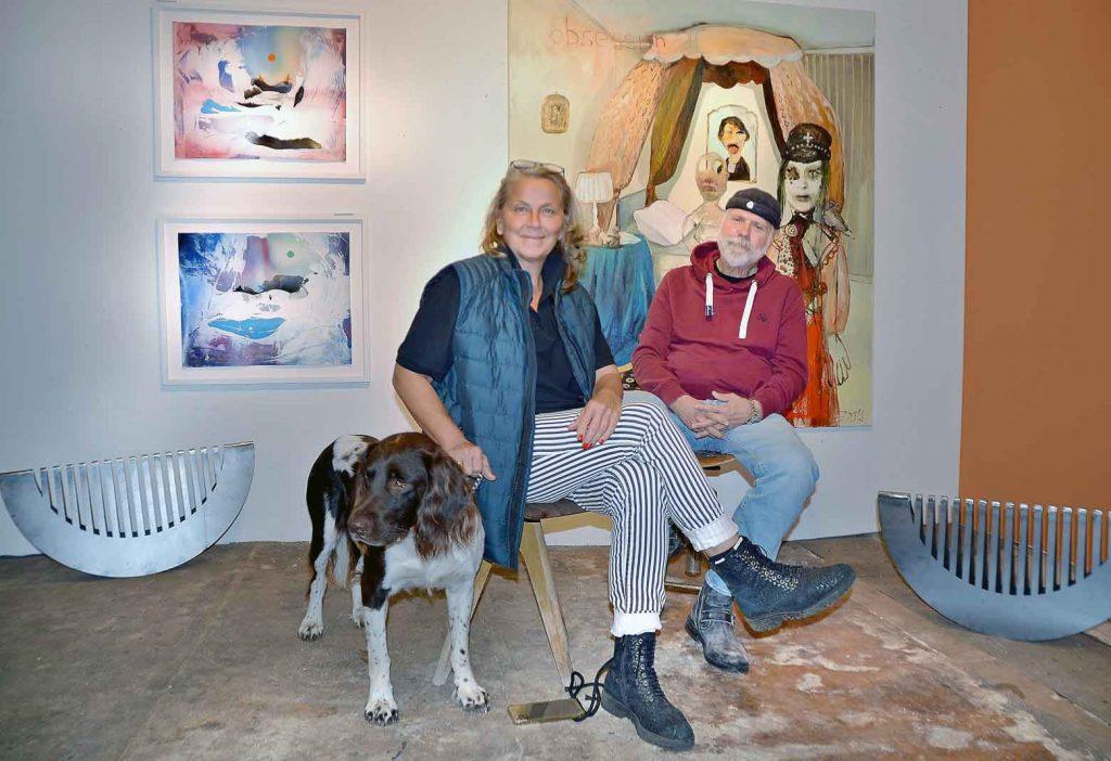 Hella Sinnhuber David Dietrich Kunstausstellung-artpark