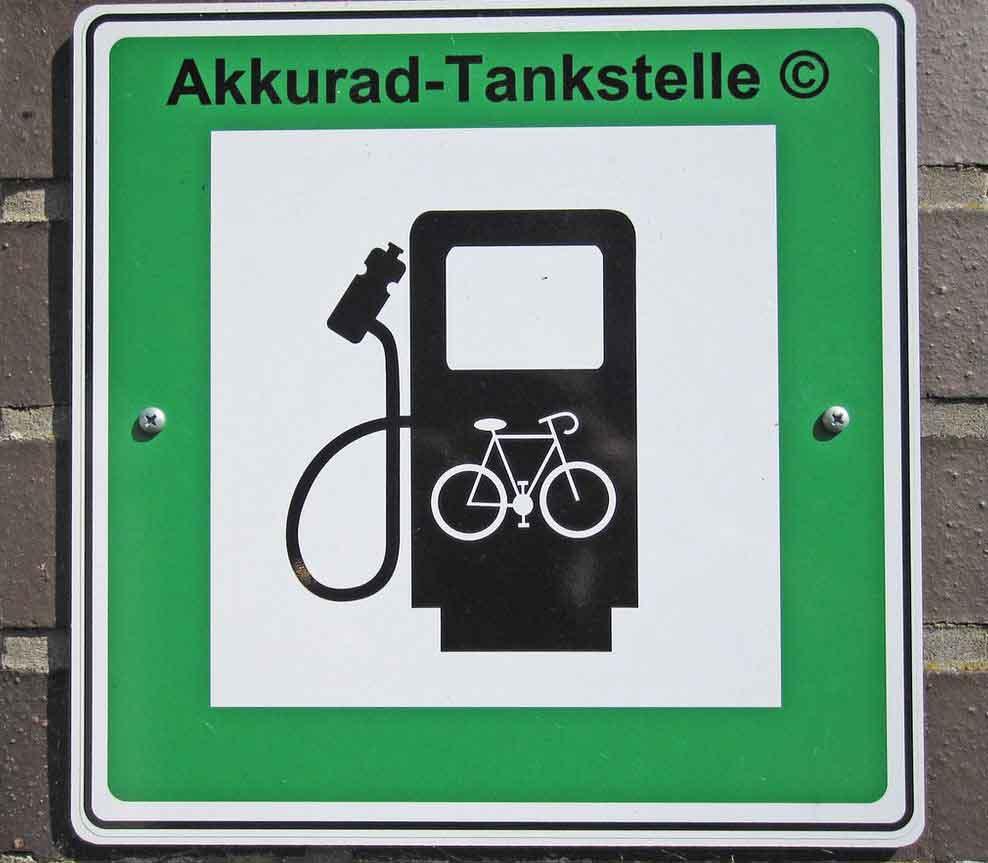 Ladestation-Elektro-Fahrrad
