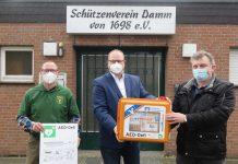 Defibrilator-Volksbank-Schermbeck