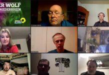 diskussion Wolf - Grüne Kreisverband luden ein