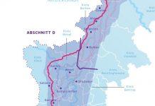 Amprion nord Schermbeck trassenkorridore