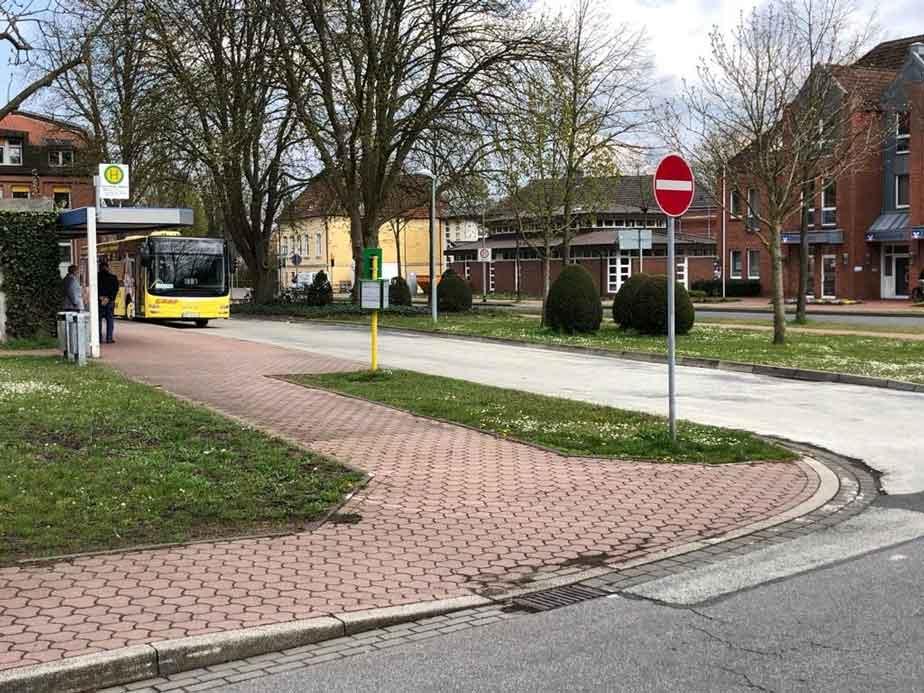 Busbahnhof-Schermbeck