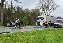 Frau-nach-Unfall-in-Schermbeck-B58-schwer-verletzt